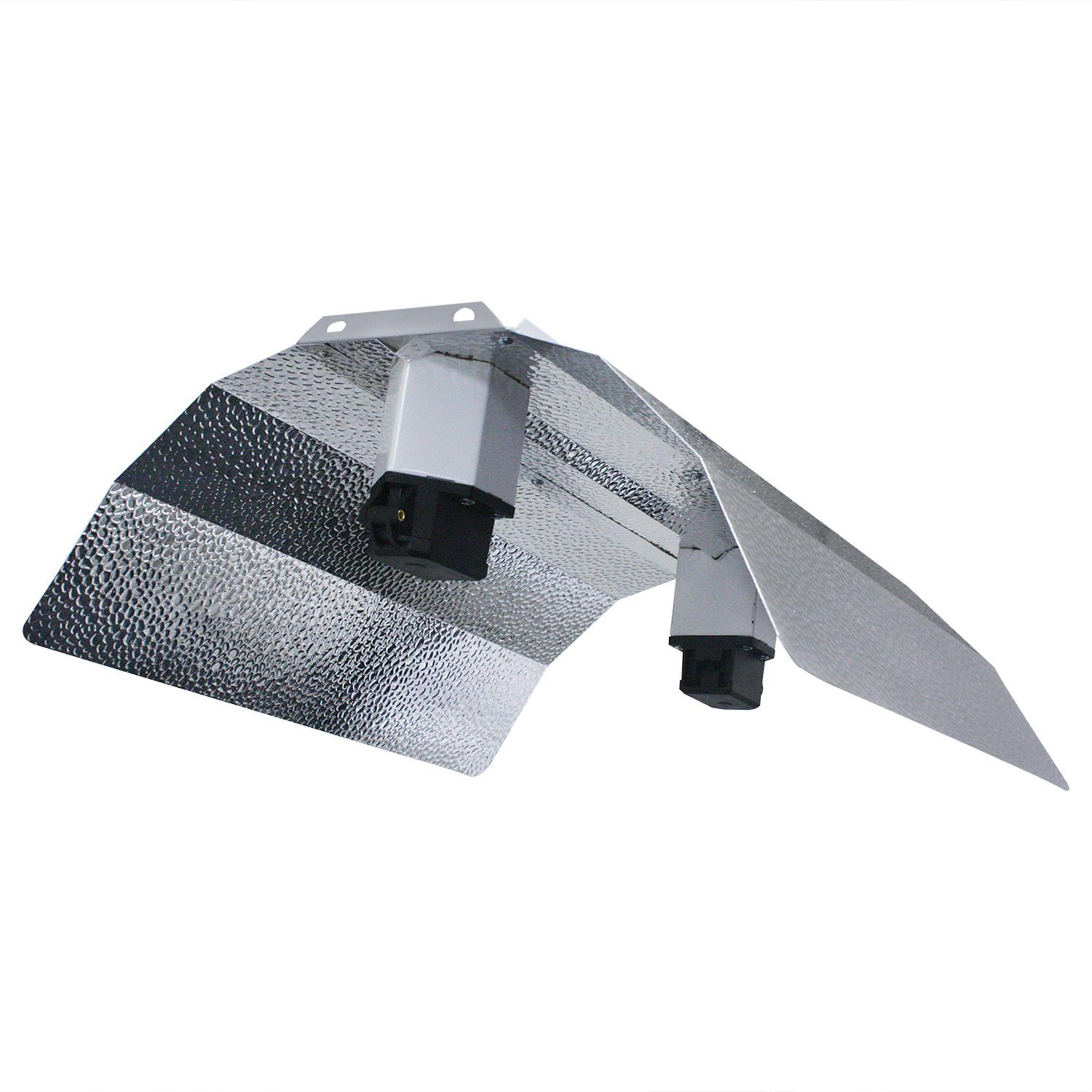 Hydro Crunch™ 18 in. Double Ended DE Basic Wing Grow Light Reflector with Socket and Cord