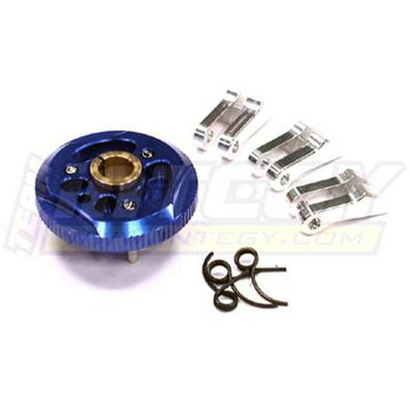 - Integy RC Toy Model Hop-ups T6625BLUE 6061 3pcs Clutch Conversion for HPI Nitro Firestorm