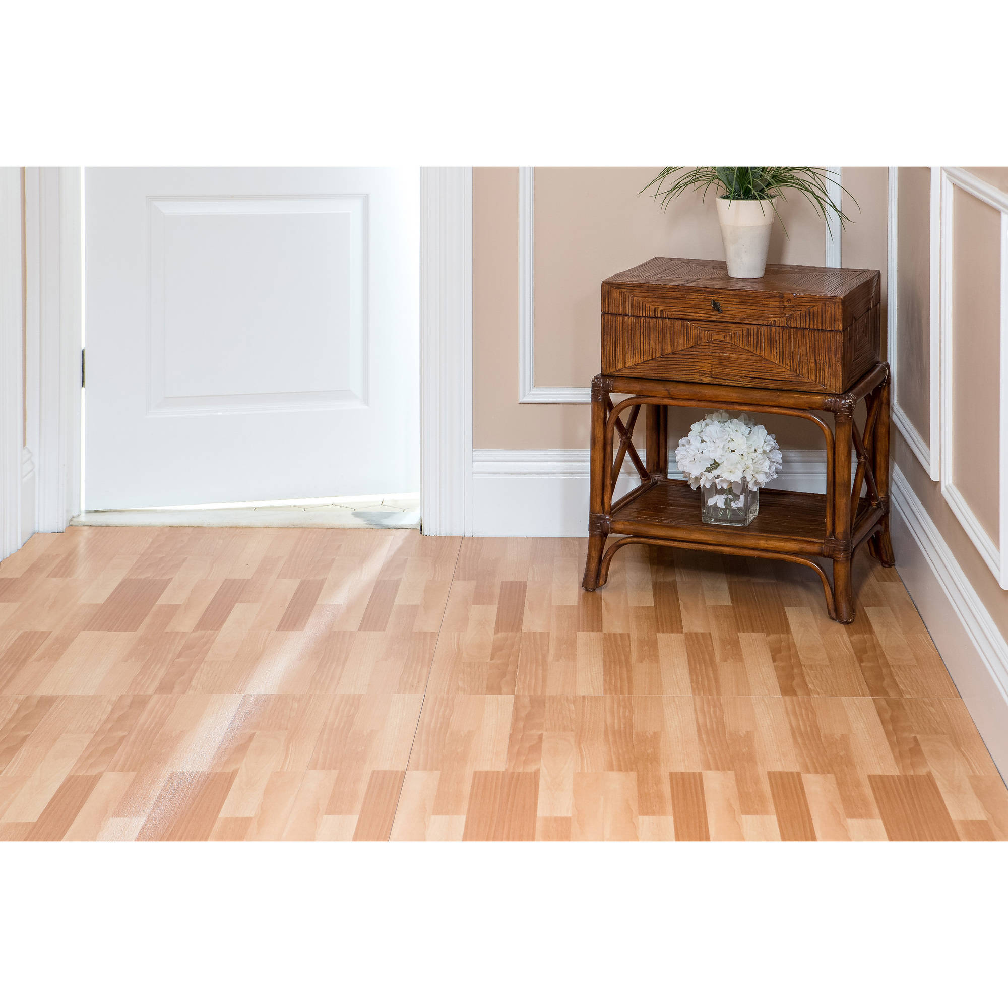 tivoli ii 6x36 peel 'n' stick vinyl planks - 10 planks/15 sq.ft