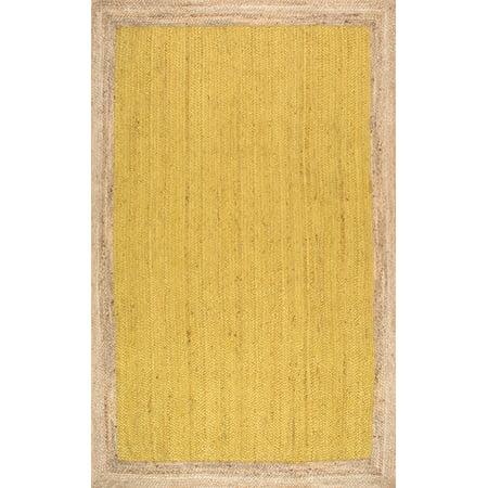 nuLOOM Machine-Made Eleonora Area Rug or Runner](Yellow Carpet Runner)