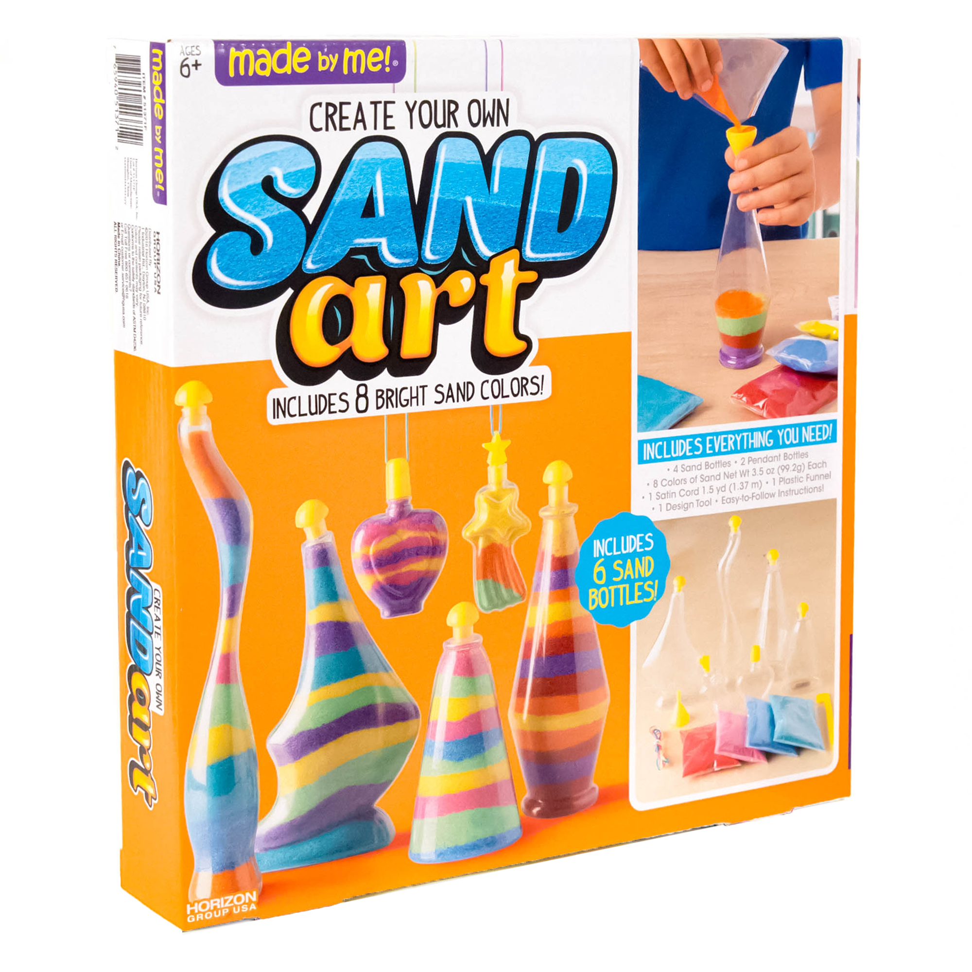 1 X BOTTLE CREATE YOUR OWN SAND ART SET KIDS ARTS CRAFTS TOY GAME FUN LEARNING