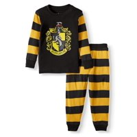 Harry Potter Toddler Boys or Girls Unisex Snug Fit Cotton Long Sleeve Pajamas, 2pc Set (2T-5T)
