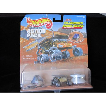 Hot Wheels Special Edition JPL Mars Sojourner on Mission Accompshed Jy 1997 Card - image 1 of 1