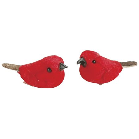 Darice 1300-06 Mini Mushroom Birds 1 2/Pkg-Assorted Colors](Mushroom Decorations)