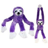 """#PlushPals 27"""" Sloth Stuffed Animal Plush Toy Soft & Fluffy - Pink"""