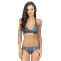b4b69a0f99 Product Image Bikini Lab Juniors Fronds Banded Halter Swim Top