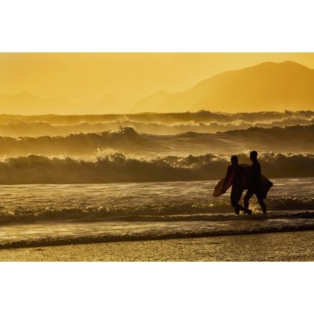Sunday Afternoon Walk In Owen Park >> Body Surfers Walk In The Water On The Coast Of Kodiak Island During