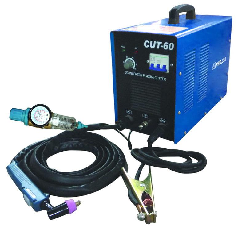 60 Amp Plasma Cutter Dc Inverter Cutting Metal 220 V Cut ...
