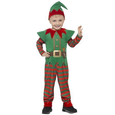 Elf Costume For Toddlers (Elf Toddler Costume)