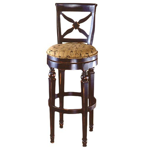 Hillsdale Normandy Swivel 28 Inch Counter Height Stool