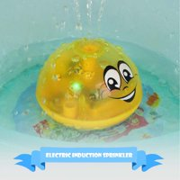 Electric Induction Sprinkler Toy, Bath Toy Automatic Induction Sprinkler Bath Toy