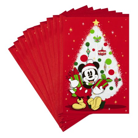 Hallmark Disney Christmas Card (Jolly Joyful Mickey Mouse) ()