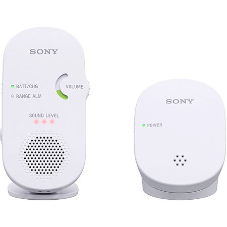 Sony 2.4 GHz Digital Audio Baby Monitor, (Best Sony Iphone Baby Monitors)