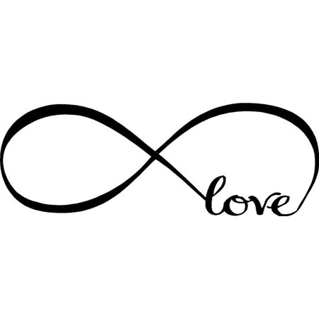Infinity Symbol, Wall Stickers, Franterd Bedroom D?cor Word Love Vinyl Art Decal 7