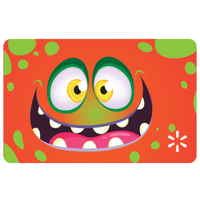 Goofy Monster Walmart Gift Card