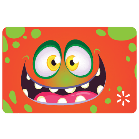 Goofy Monster Walmart Gift (Compare Store Cards)