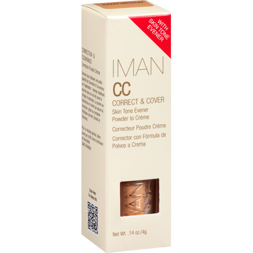 Iman CC Creme, Sand Medium, 0.14 oz