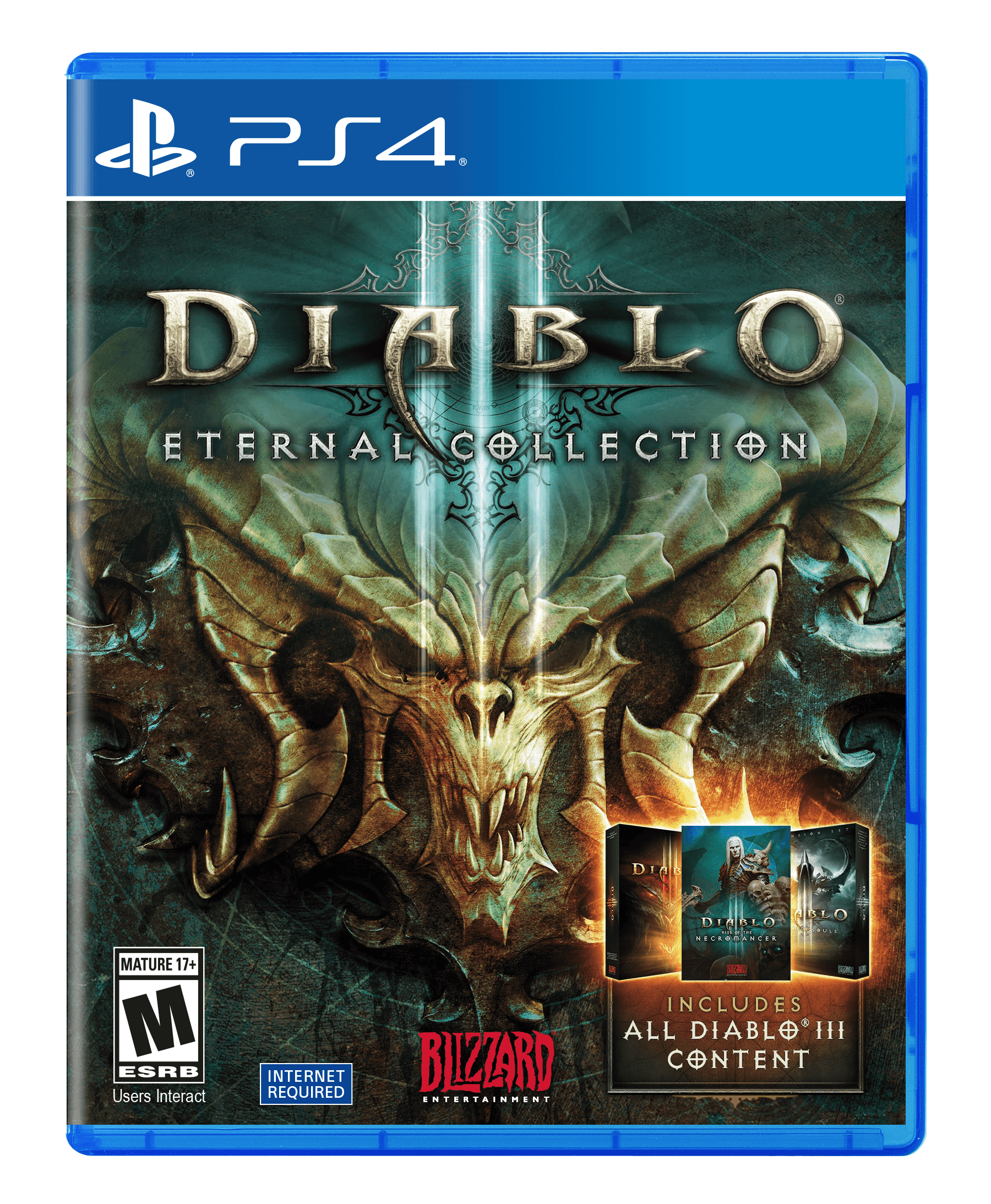 Diablo III Eternal Collection, Activision, PlayStation 4, 047875882140