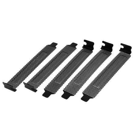 5 Pcs Desktop Computer Hard Steel Anti-Dust PCI Expansion Slot (Pmi Cover)
