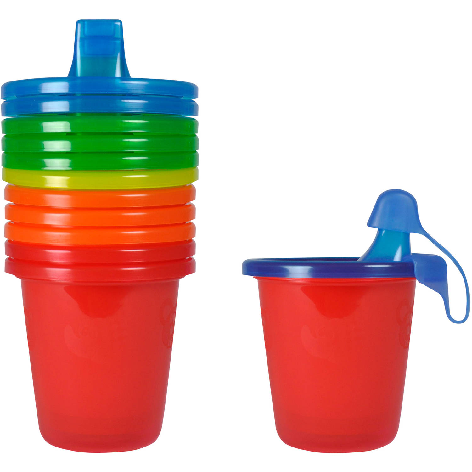 The First Years Take & Toss Spill-Proof Sippy Cups, BPA-Free - 7 oz, 6 pack