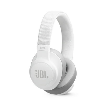 Live 500BT On-Ear Wireless Headphones with Voice Assistant (White)