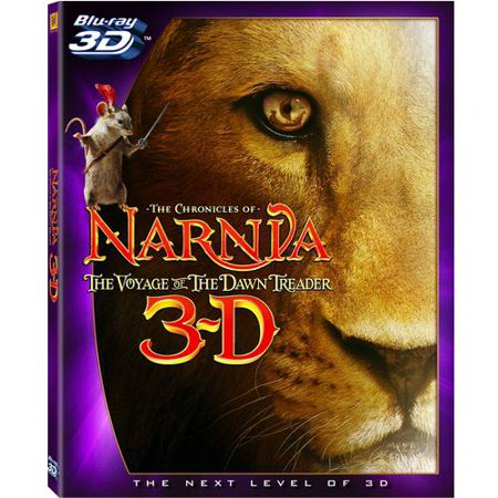 The Chronicles Of Narnia: The Voyage Of The Dawn Treader (3D Blu-ray + Blu-ray + Standard