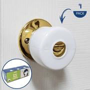 Wittle Door Knob Safety Cover - 4 Pack   Baby Proof Door Lock   Child Proof Doors