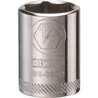 Stanley Tools 7518400 DWMT86030OSP 0.25 Drive 6 Point Socket, 0.5 in.