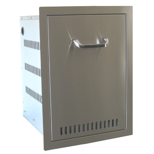 Beefeaters Built-in Drawer 10 Gallon Trash Cabinet