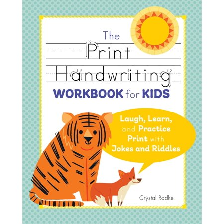 The Print Handwriting Workbook for Kids : Laugh, Learn, and Practice Print with Jokes and - Halloween Riddles For Math
