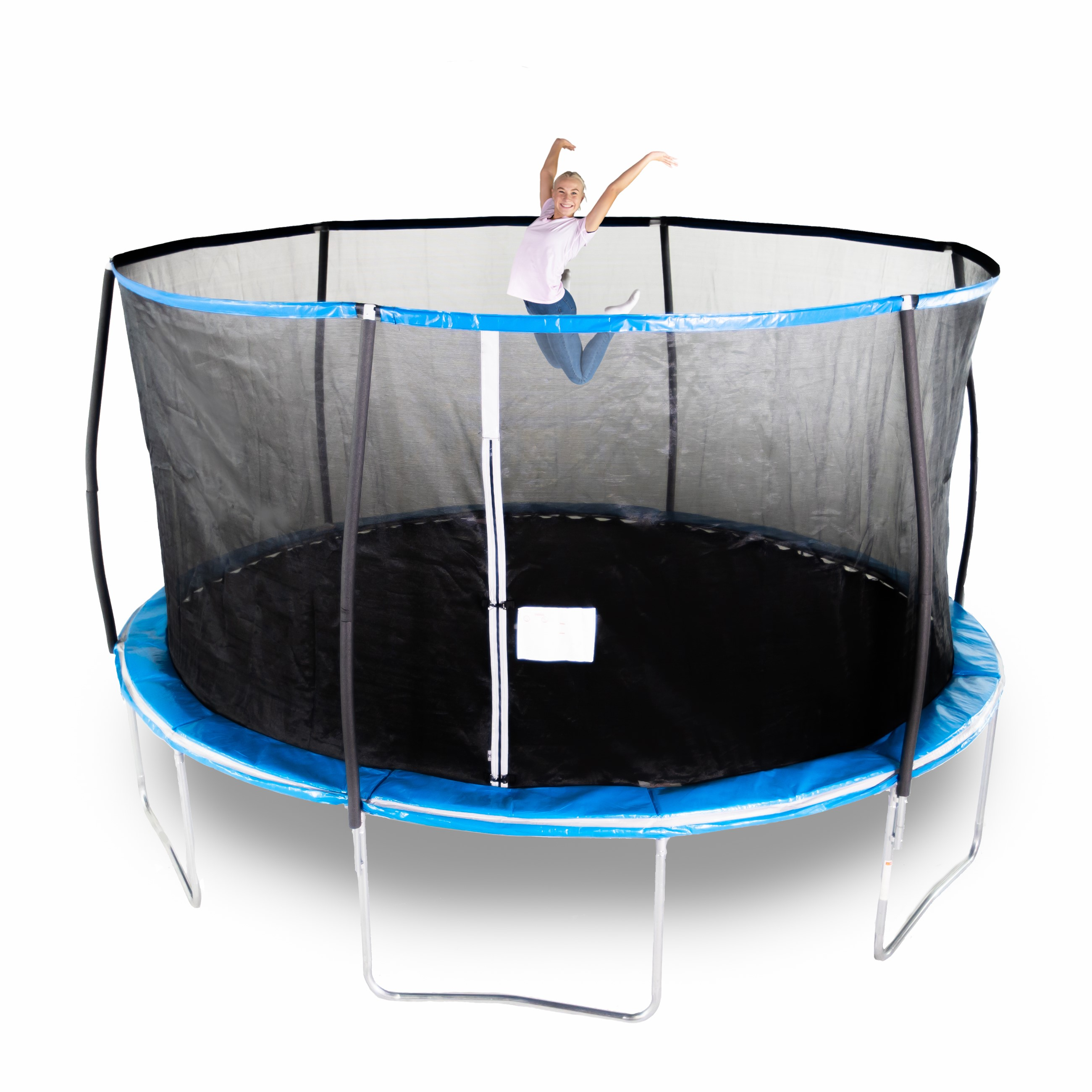 8 X 14 Rectangle Trampoline Green: Indoor Trampoline Toys R Us