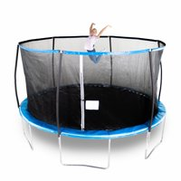 Bounce Pro 14-Foot Trampoline with Enclosure (Blue)