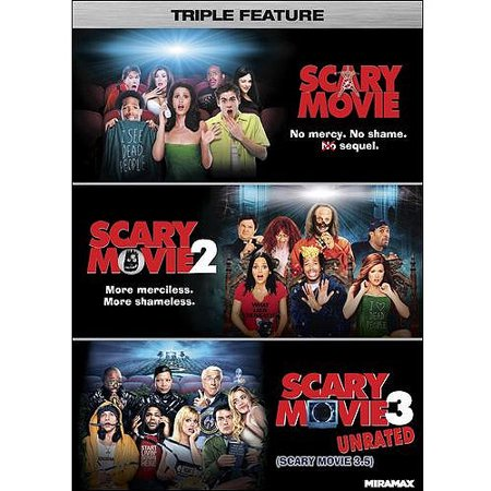 Scary Movie Triple Feature  Scary Movie   Scary Movie 2   Scary Movie 3  Unrated