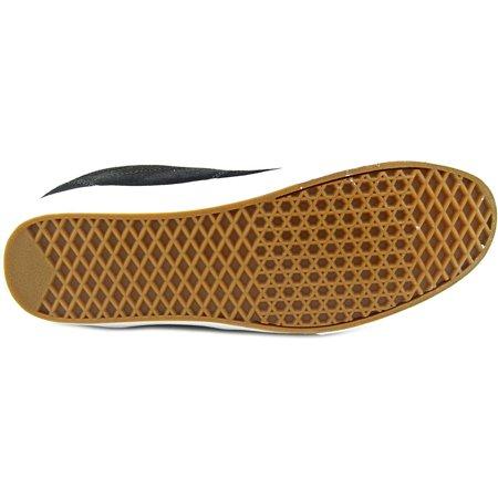84d6637b287c Vans - Vans Euclid Men Round Toe Leather Skate Shoe - Walmart.com