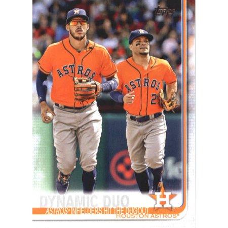 Simple Dynamic Duo Ideas (2019 Topps #294 Dynamic Duo Houston Astros Baseball Card -)