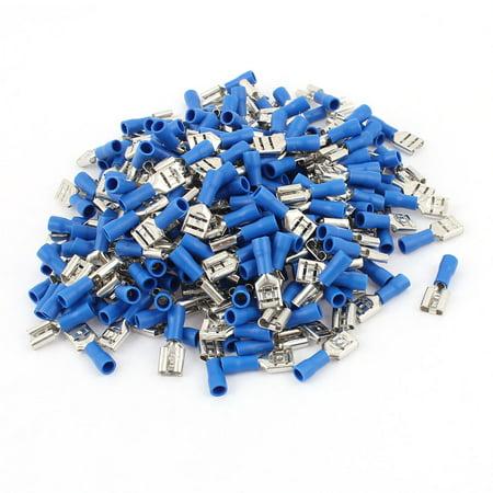 240pcs FDD1.25-250 0.5-1.5mm2 énergie électrique sur Fil Bleu borne Femelle isolée - image 1 de 1