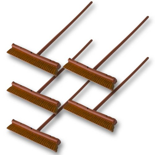 Set of 5 Push Brooms for Wrestling Action Figures