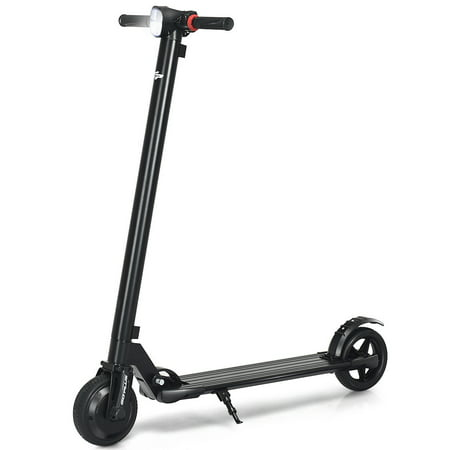 Goplus 250W High Speed Folding Adult Electric Kick Scooter Lightweight Easy-carrying