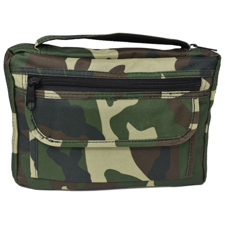 Garrison Grip Quality Canvas Camo Concealed Carry Bible Cover Gun Case or Day Planner Cover Gun Case