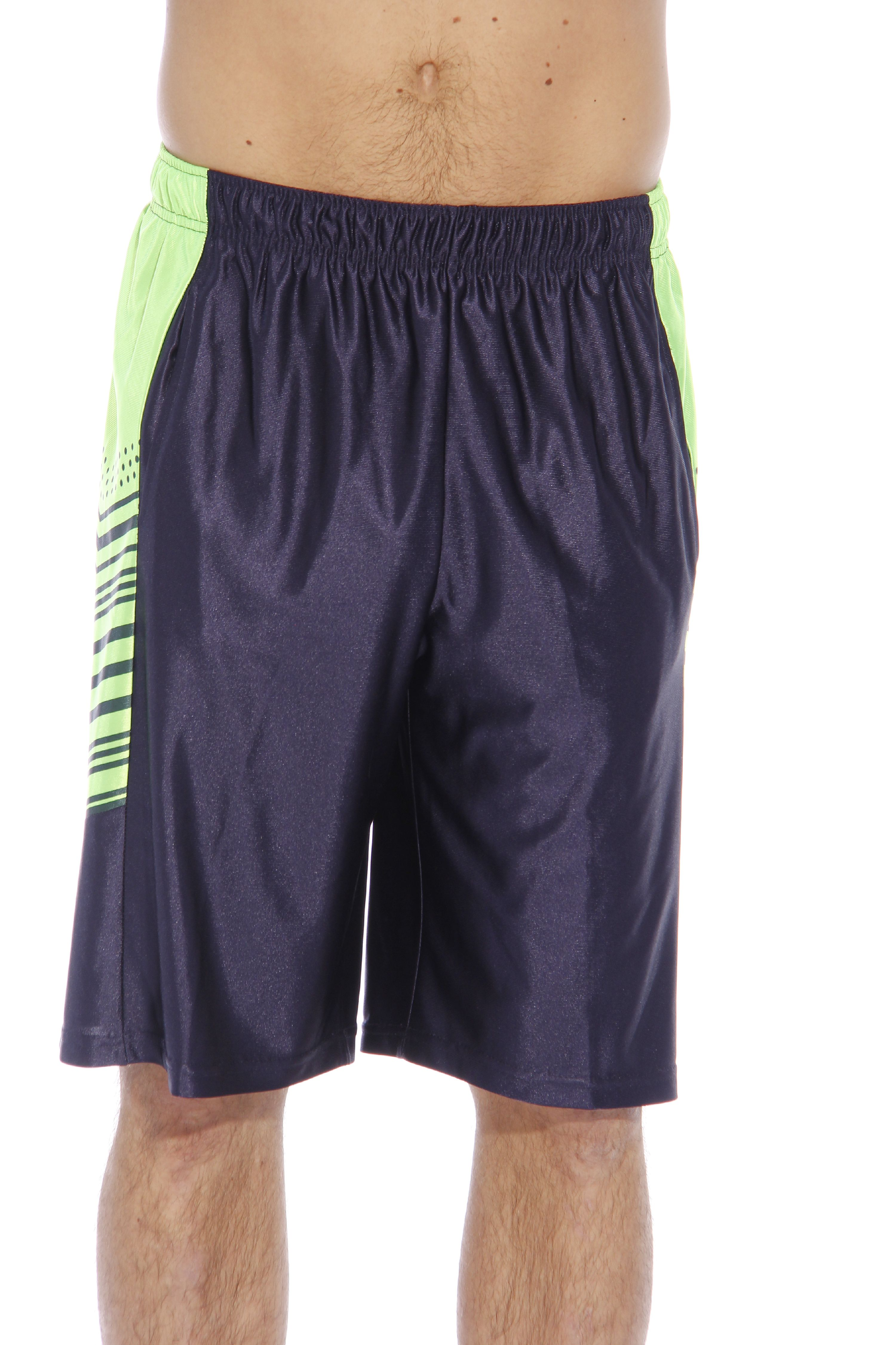 At The Buzzer Athletic Basketball Shorts for Men