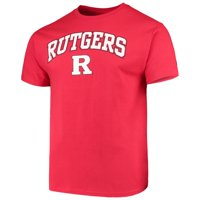 Men's Russell Athletic Scarlet Rutgers Scarlet Knights Core Print T-Shirt