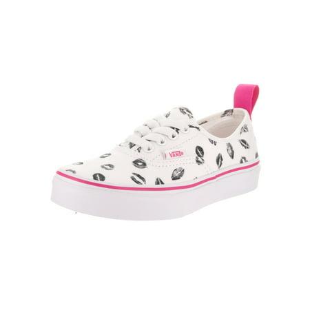 dda45a6c8f46 VANS - Vans Kids Authentic Elastic (Valentines) Skate Shoe - Walmart.com