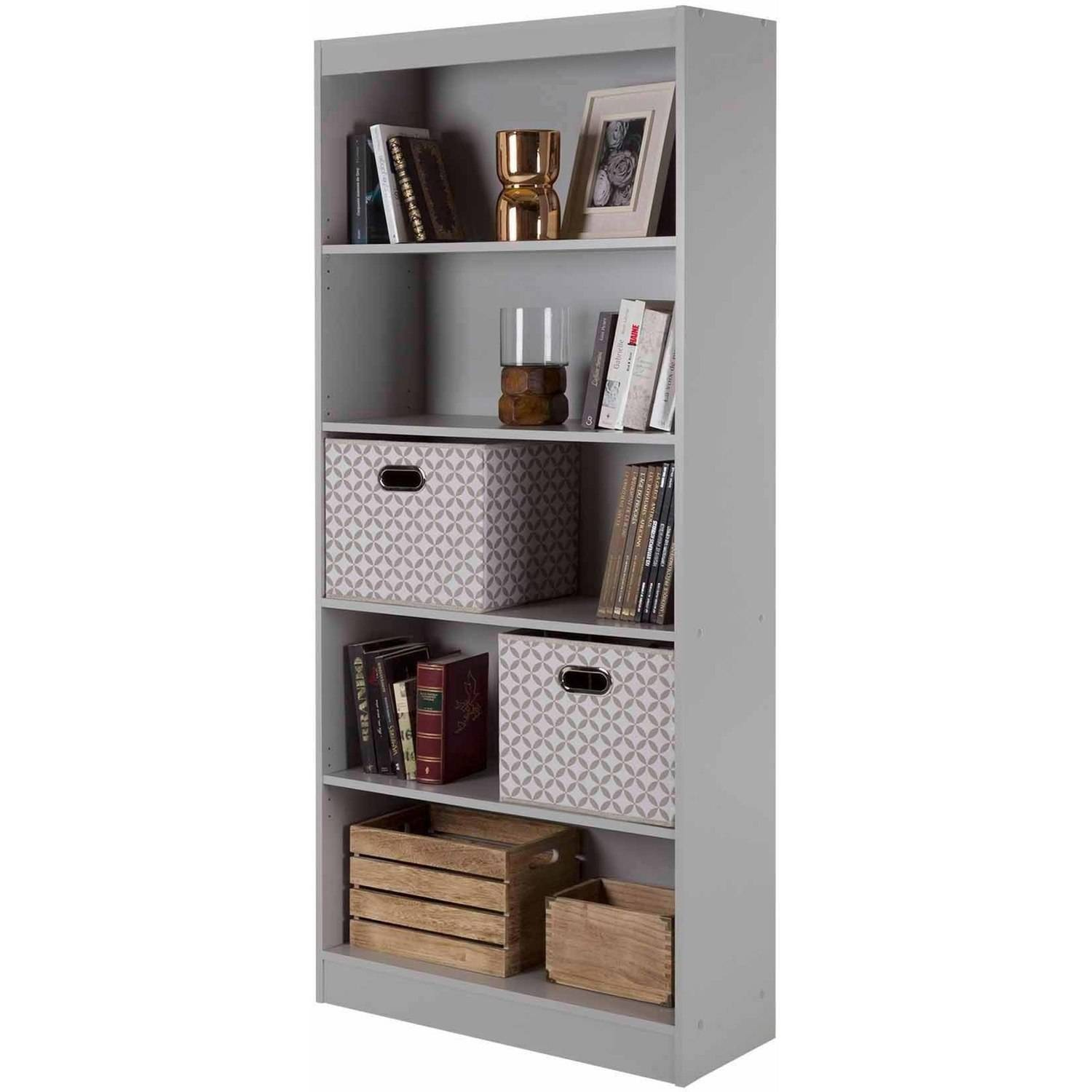 South Shore Smart Basics 5 Shelf Bookcase Value Bundle, Multiple Finishes  (Mix And Match)   Walmart.com
