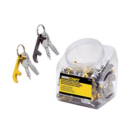 Key Chain Bottle Opener Can Opener Beer Pop Beverage Phillips Flat Screwdriver](Key Bottle Openers)