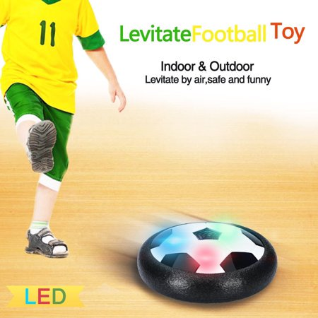 Magicfly LED Hover Soccer Ball Toys with Foam Bumpers, Hover Football for Kids, Fun Gifts and Toys for Family Games](Fuzzy Ball Game)
