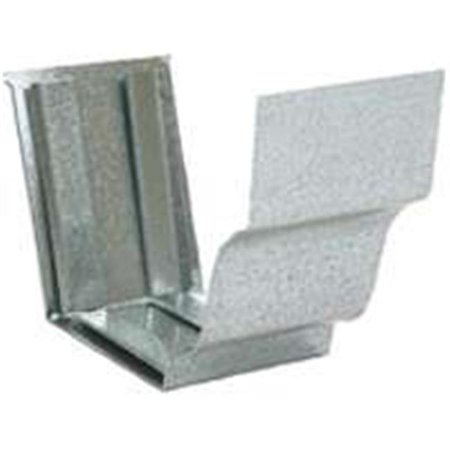 29209 5 In. Galvanized Gutter Slip Joint Connector