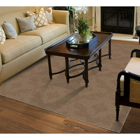 Brown Striped Rug - Charleston Patterned Area Rug
