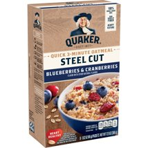 Oatmeal: Quaker Quick Steel Cut Packets