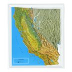 American Educational Products K-Ca2225 California Ncr Series Map