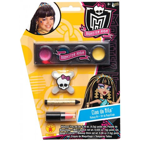 Monster High Cleo de Nile Makeup Kit Halloween Accessory - Rockabilly Halloween Makeup